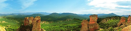 Belogradchik rocks - panorama